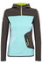 Edelrid Holly sweater Dames grijs/turquoise